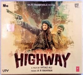 Highway Hindi Audio Cd By A.R.Rahman