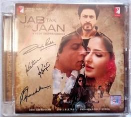 Jab Tak Hai Jaan Hindi Audio Cd By A.R. Rahman