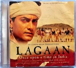 Lagaan Hindi Audio Cd By A.R. Rahman