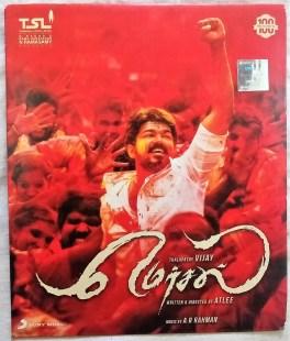 Mersal Tamil Audio CD By A.R Rahman