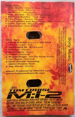 Music from and inspired by mission impossible 2 Audio cassettes