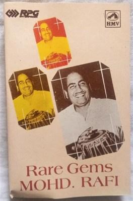 Rare Gems MOHD.RAFI Hindi Audio Cassettes