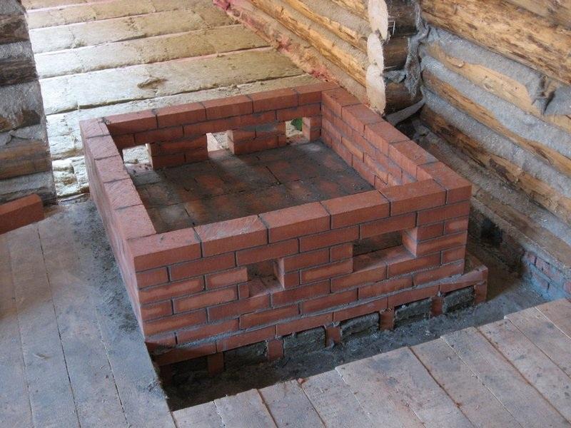 Hausgemachte Öfen zum Bad