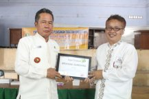 Kepala Desa Cimalaka & Perwakilan BPLH Sumedang.