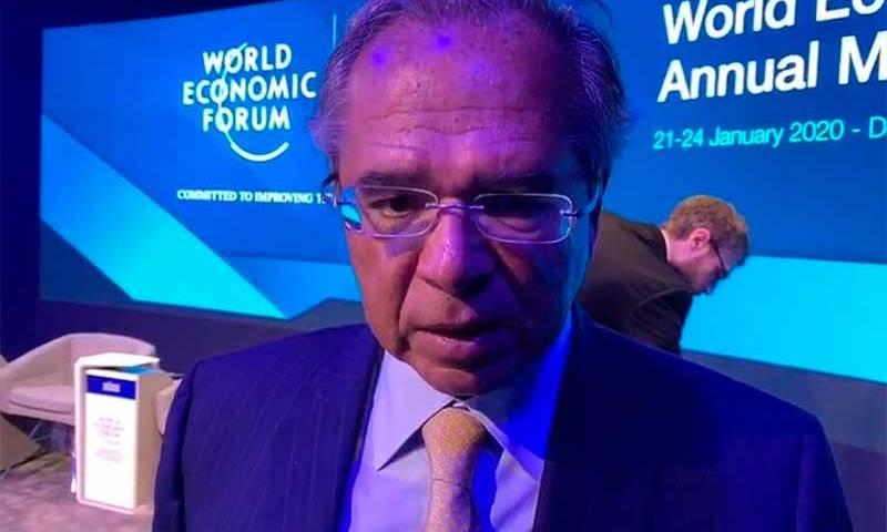 Guedes conclui participação em Davos nesta quinta-feira
