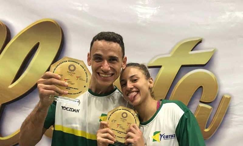 Taekwondo brasileiro levará três atletas a Tóquio 2020