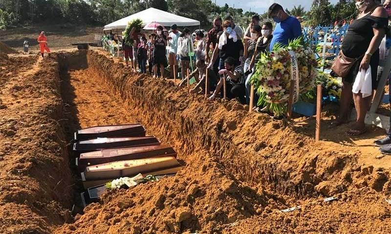 Brasil chega a mais de 20 mil mortes por covid-19