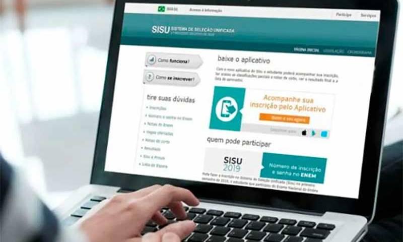 Começa prazo para instituições de ensino superior aderirem ao Sisu