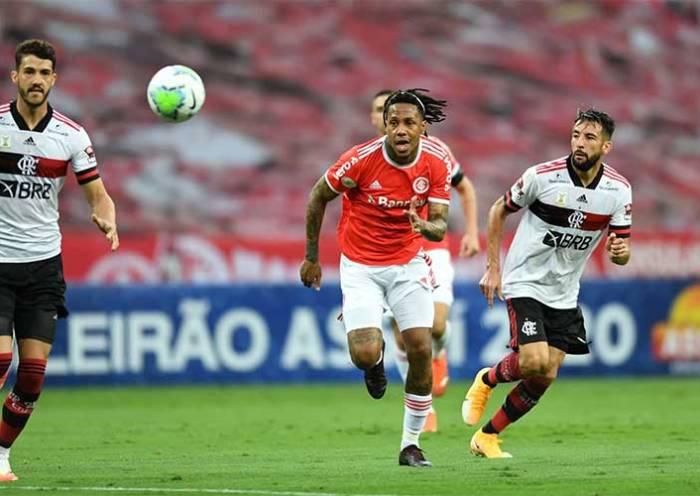Inter deixa escapar a vitória ao empatar com o Flamengo no Beira-Rio
