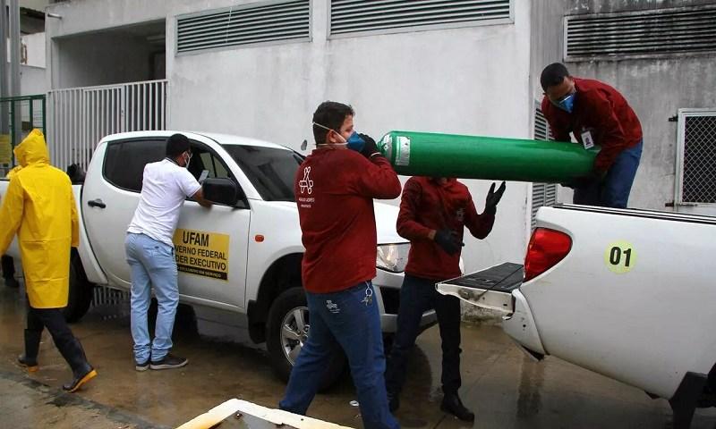 Governo foi informado dia 8 sobre escassez de oxigênio em Manaus
