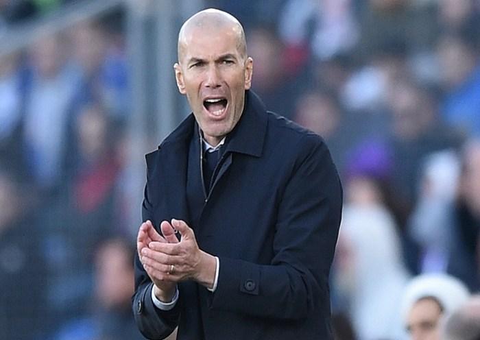Zidane é diagnosticado com o novo coronavírus