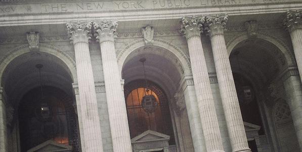 ニューヨーク公共図書館♪