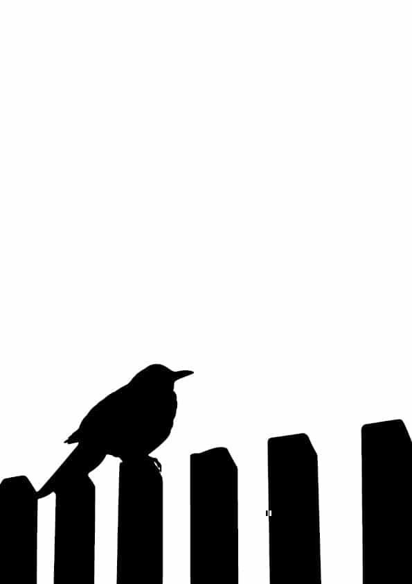 Solsort silhuet vertikal | Grafiske plakater - Solsort silhuet vertikal | Grafiske plakater - Digital print-selv-plakat