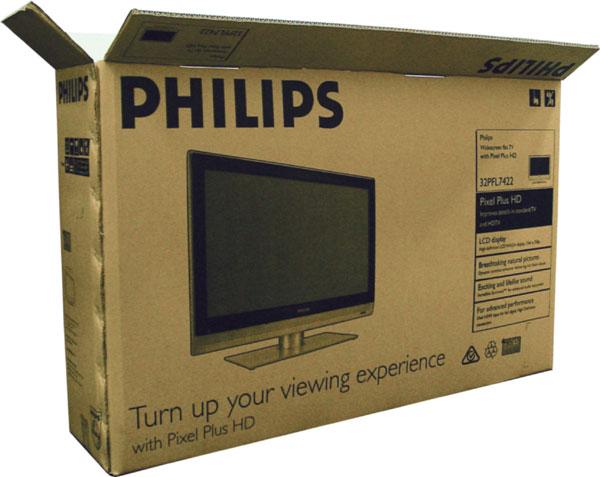 in thùng carton tivi