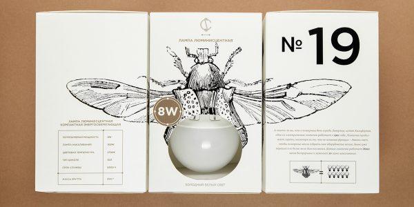 Hộp giấy đựng bóng đèn độc đáo của công ty CS