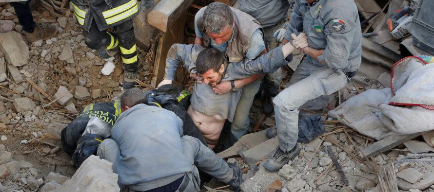 Động đất chết người tại miền trung nước Ý