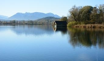 Fischerhütte am Simssee