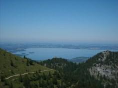 Berge und Seen im Chiemgau