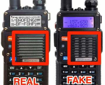 How to distinguish true and false Baofeng BF-F8HP!