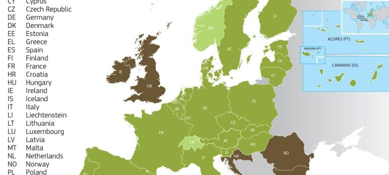 Khối Schengen gồm những nước nào?