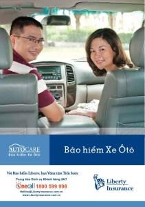 Bảo hiểm ô tô tự nguyện Liberty