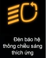 Đèn báo hệ thống chiếu sáng thích ứng