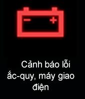Đèn cảnh báo lỗi ắc quy