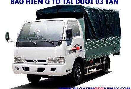 Bảo hiểm xe ô tô tải dưới 03 tấn