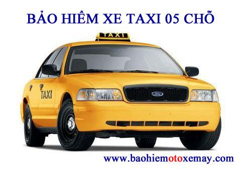 Bảo hiểm TNDS bắt buộc xe taxi 4 - 5 chỗ | Chiết khấu 30