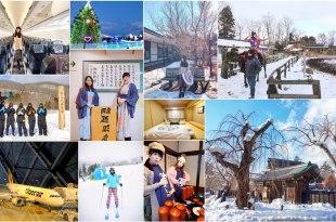 【日本】搭乘台灣虎航來趟日本東北五天四夜的溫泉、滑雪、美食之旅♥花卷進✈仙台出