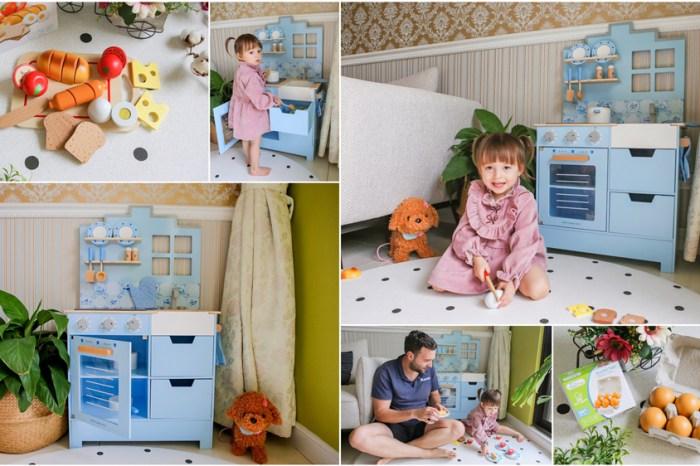 【育兒】每個寶寶都該擁有一台夢幻小廚房♥荷蘭New Classic Toys聲光木製小主廚