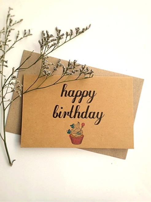 Thiệp chúc mừng sinh nhật – Thiệp cảm ơn