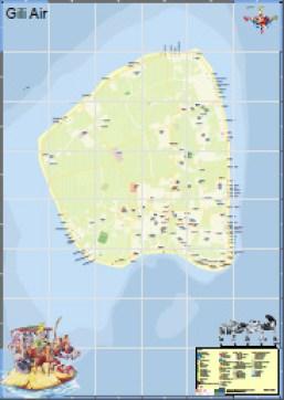 Peta Gili Air Preview