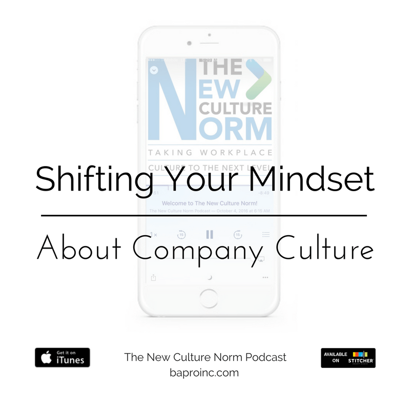 Shifting Your Mindset About Company Culture | BA PRO, Inc.