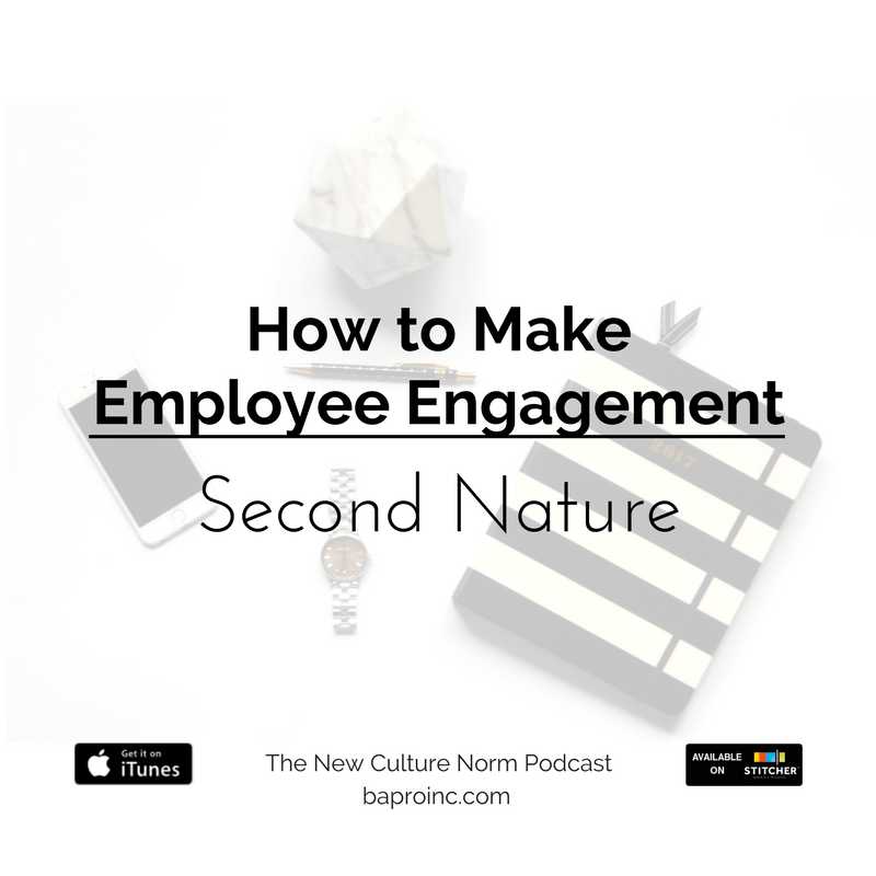 How to Make Employee Engagement Second Nature | BA PRO, Inc.