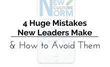 4 Huge Mistakes New Leaders Make & How to Avoid Them | BA PRO, Inc.