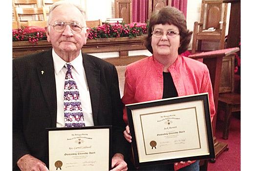 Padgett's Creek citizenship awards