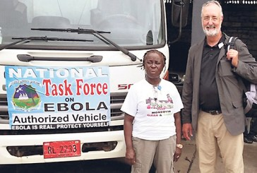 Jeff Deal prepares to combat an Ebola outbreak in Liberia.