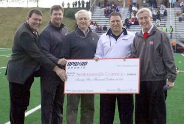 Upward Sports 2nd donation to NGU