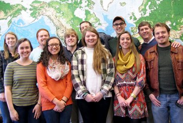 Pictured are NGU Intercultural Studies majors who will be participating in their international field immersion experience in Ecuador this year.