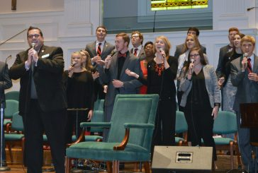 North Greenville University's Joyful Sound led in worship at the 2015 South Carolina Baptist Pastors' Conference at Southside Baptist Church, Spartanburg.