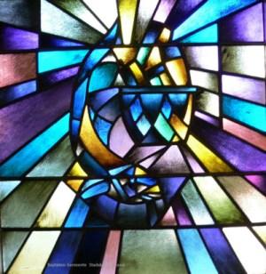Baptisten Gemeente Stadskanaal Noord Glas in Lood