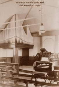 interieur orgel baptist church holland