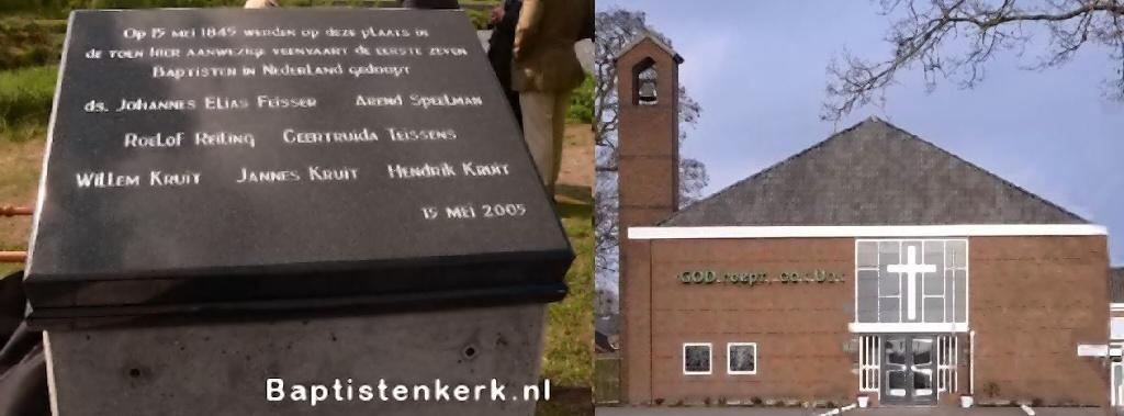 stadskanaal kerk BAPTISTENRue-histo Monument