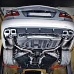 Mercedes E550 W212 – Baq Exhaust