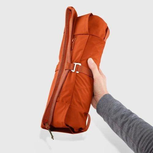comprar mochila fjallraven high coast foldsack rowan red naranja 7