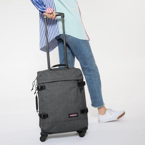 EK80L77F comprar maleta de viaje eastpak tranveS4 black denim 5