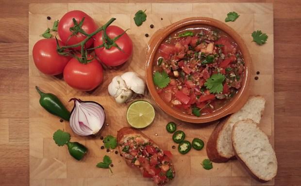 Lecker. Classic Tomato Salsa