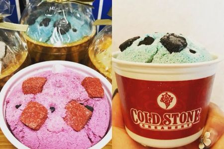 コールドストーンのアイスクリーム…かと思いきや、コチラ何と入浴剤☆