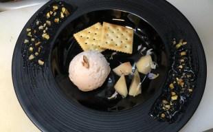 【数量限定デザート】山梨県産の桃を使用したアイスシャーベット~お酒の〆にどうぞ!